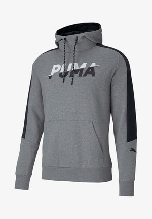 Hoodie - medium gray heather