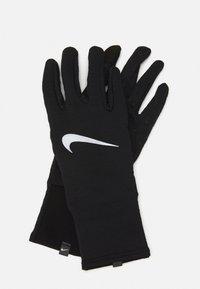 Nike Performance - WOMENS SPHERE RUNNING GLOVES  - Gloves - black/silver - 0