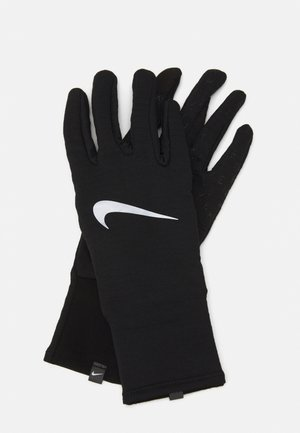 WOMENS SPHERE RUNNING GLOVES  - Fingervantar - black/silver