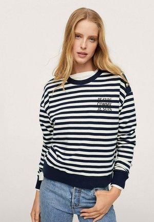 Sweatshirt - bleu marine foncé
