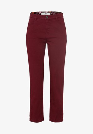 STYLE MARY S - Trousers - bordeaux