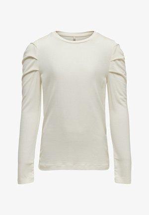 KDO - Langærmede T-shirts - cloud dancer