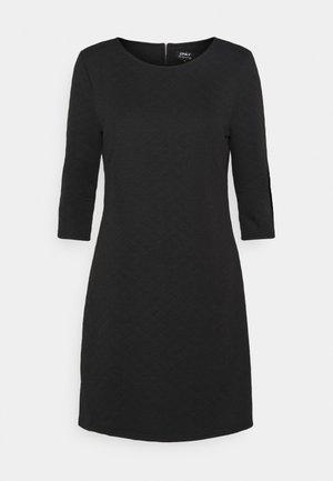 ONLJOYCE 3/4 DRESS  - Trikoomekko - black
