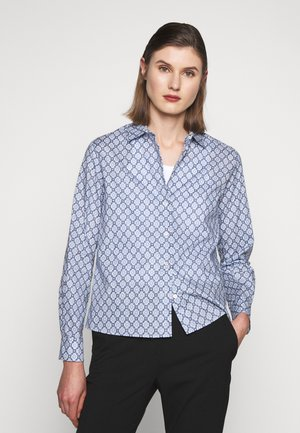 HIDALGO - Button-down blouse - azurblau