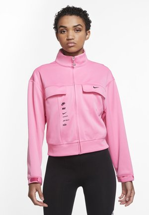 Training jacket - pink glow/pink foam/black
