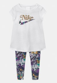 Nike Sportswear - STUDIO FLORAL SET - Print T-shirt - multi-coloured/white - 0