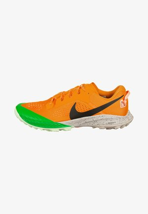Zapatillas de trail running - orange, green