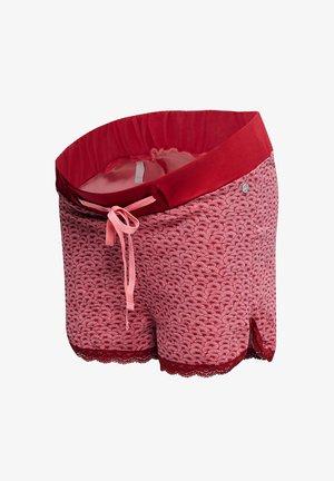 ALLOVER PRINTED NIGHT SHORTS - Pyjama bottoms - blush