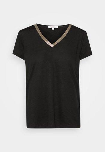 DORE - Print T-shirt - noir