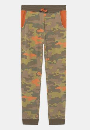 JUNIOR ACTIVE PANTS - Teplákové kalhoty - olive