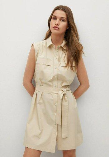 Shirt dress - gris claro/pastel