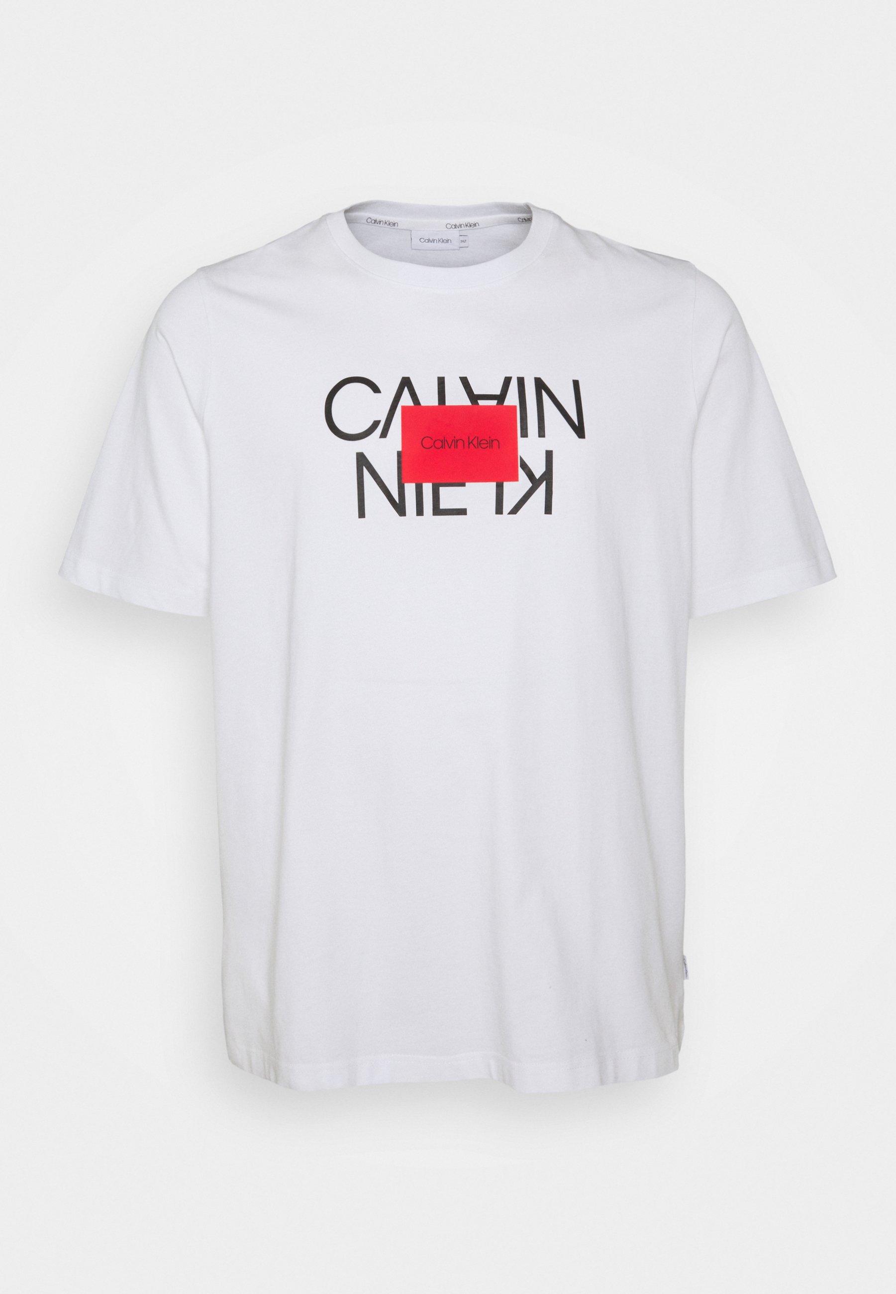 Homme TEXT REVERSED LOGO - T-shirt imprimé