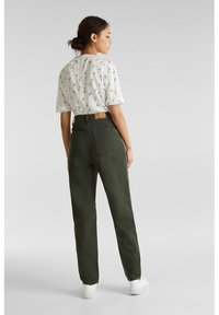 edc by Esprit - Straight leg jeans - khaki green - 2