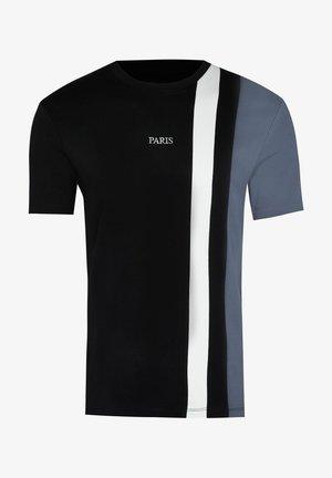 SLIM FIT - T-shirt print - black