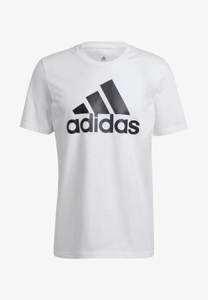 ESSENTIALS BIG LOGO T-SHIRT - T-shirts med print - white