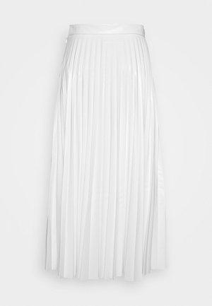 PLEATED SKIRT - Gonna a campana - white