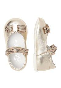 Naturino - NATURINO JETE - Ankle strap ballet pumps - gold - 1
