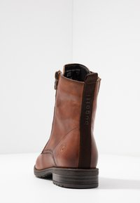 Bugatti - RONJA - Lace-up ankle boots - cognac - 5