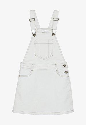 CAROLYN - Denim skirt - white star