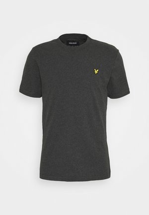 PLAIN - T-shirt - bas - charcoal marl