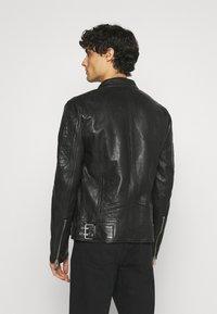 Gipsy - BENNET - Leather jacket - black - 2