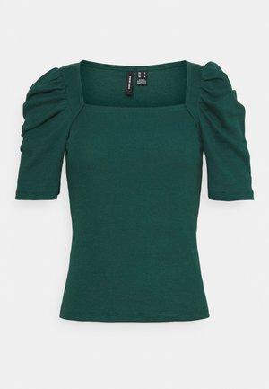 VMKAYLA PUFF TOP - T-shirt z nadrukiem - sea moss