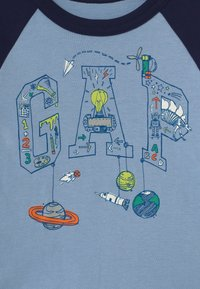 GAP - TODDLER BOY LOGO - Camiseta de manga larga - bleach blue - 2