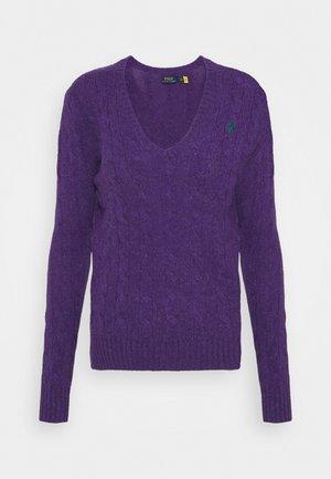 KIMBERLY CLASSIC LONG SLEEVE - Jumper - valley purple heather
