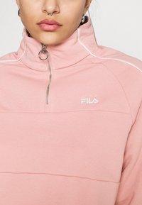 Fila - FANNY HALF ZIP - Sweater - pale mauve - 4