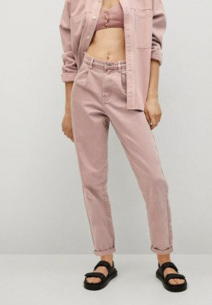 MICHELLE - Slim fit jeans - viola chiaro/pastello