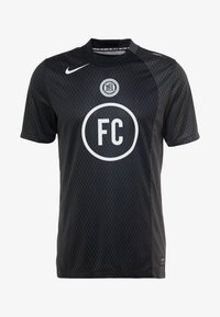 Nike Performance - FC AWAY - Print T-shirt - black/anthracite/white - 5