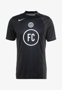 FC AWAY - Print T-shirt - black/anthracite/white