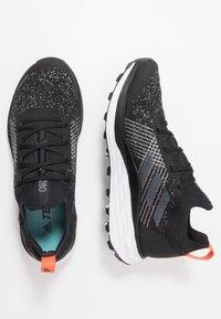 adidas Performance - TERREX TWO PARLEY - Trail running shoes - core black/grey three/true orange - 1