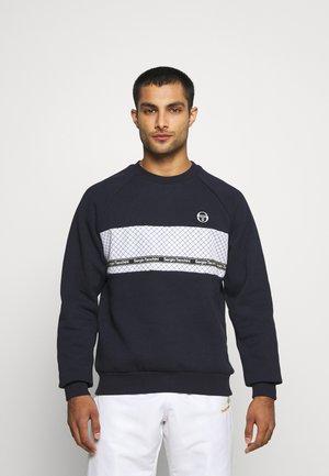 NORTY CREWNECK - Sweatshirt - dark blue/white