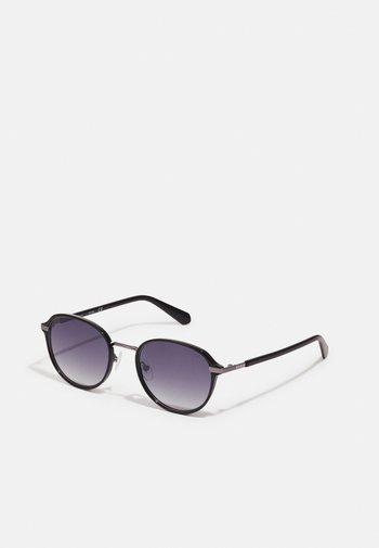 UNISEX - Sunglasses - shiny black/flash