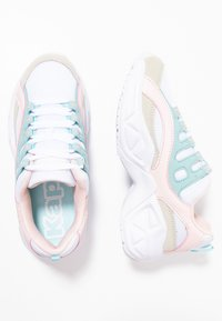 Kappa - OVERTON - Sports shoes - white/mint - 1