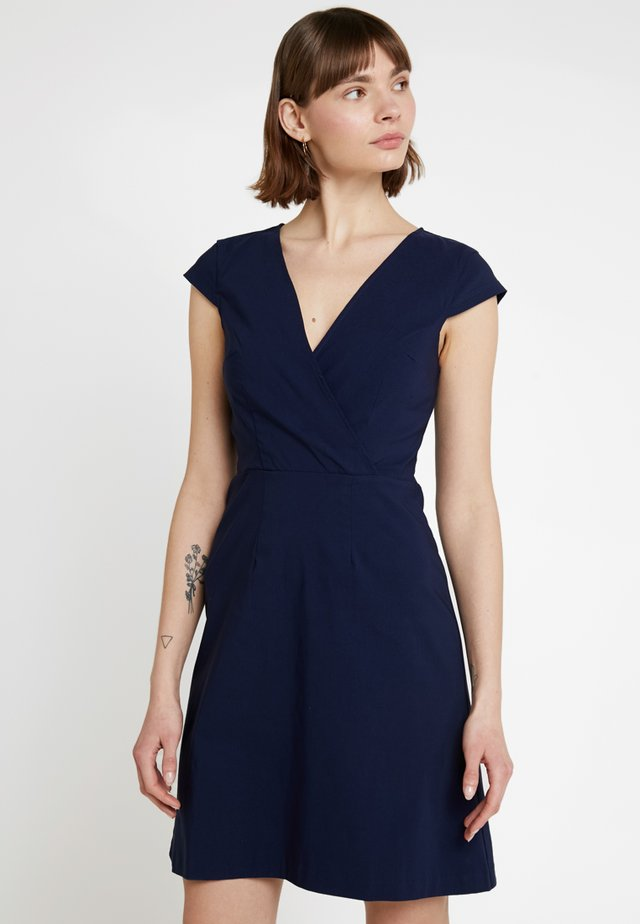Žerzejové šaty - dark blue