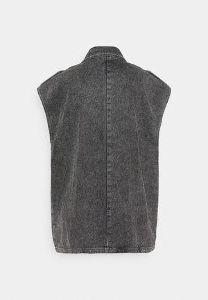 ALEAH - Waistcoat - storm grey