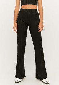TALLY WEiJL - Trousers - black - 0