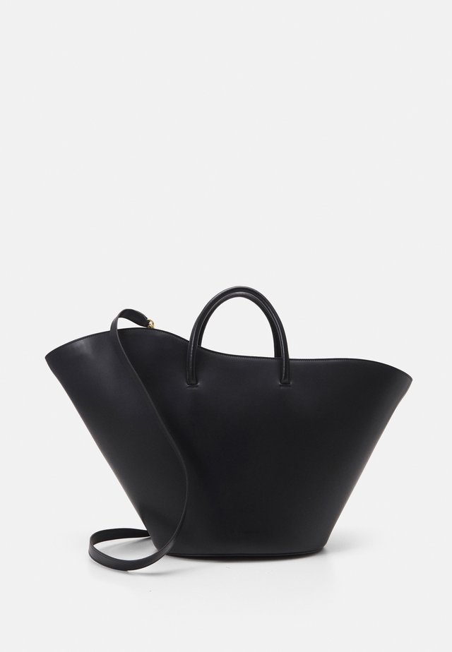 OPEN TULIP LARGE - Borsa a mano - black