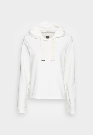 LONG SLEEVE HOODED CUFFS - Hoodie - cotton white