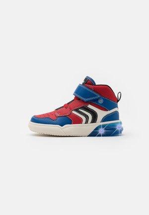 GRAYJAY BOY - Sneakersy wysokie - red/royal