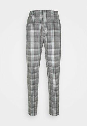 Tygbyxor - grey plaid
