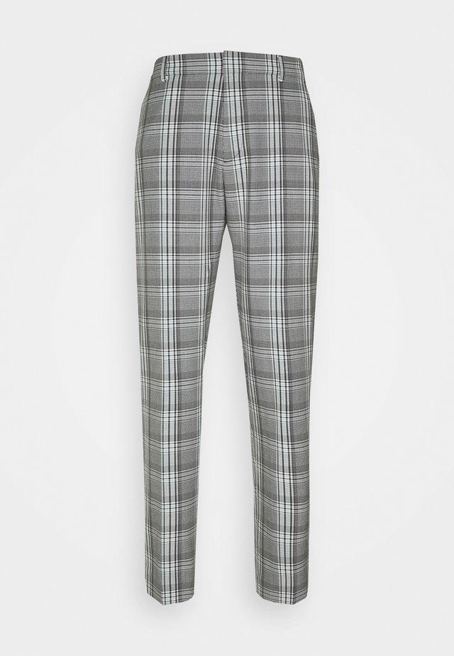Broek - grey plaid