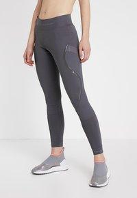 adidas by Stella McCartney - ESSENTIALS SPORT WORKOUT LEGGINGS - Legging - grey five - 0