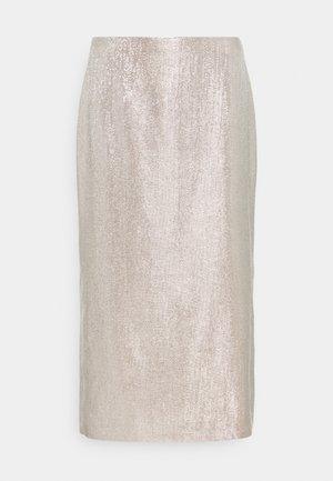 MIDI SKIRT - Pencil skirt - silver birch
