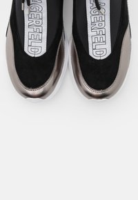 KARL LAGERFELD - VITESSE SOCK ZIP - Sneaker high - black/silver - 6