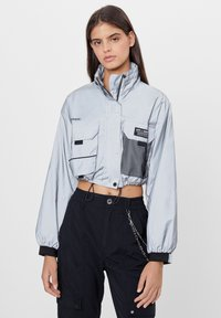Bershka - Summer jacket - light grey - 0