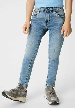 Slim fit jeans - denim blue