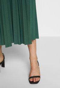 Anna Field - Plisse A-line midi skirt - Áčková sukně - teal - 3